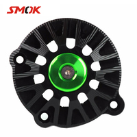 SMOK For Kawasaki Z900 2017 2018 Motorcycle Accessories Engine Timing Oil Filter Cover Engine Stator Protective Case Cover