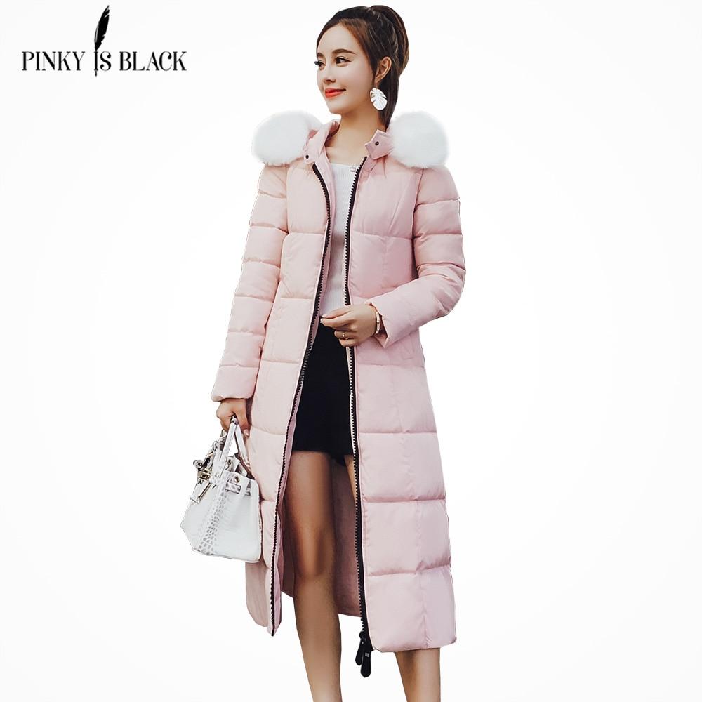Pinkyisblack 2018 Winter Jacket Women Outerwear Cotton Padded Jacket
