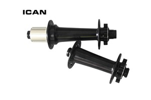Image 2 - Powerway  M74 fat bike hubs  hubs black or red bike hubs front 15x150 rear 12x197 thru axle Disc brake hub