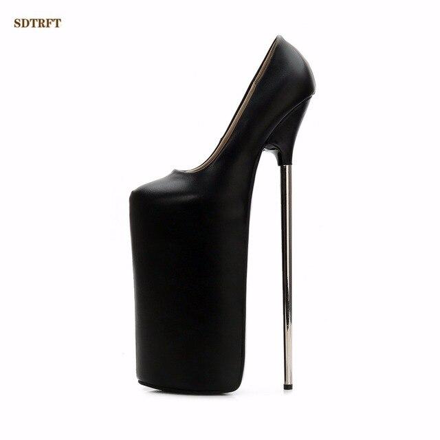 817e700149 Mais barato Crossdresser Plus  36 45 46 nova Stiletto zapatos mujer ...