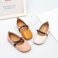Летняя обувь для девочек Мэри Джейн балета симпатичное платье принцессы резиновые противоскользящие обувь для вечеринок из искусственной ...