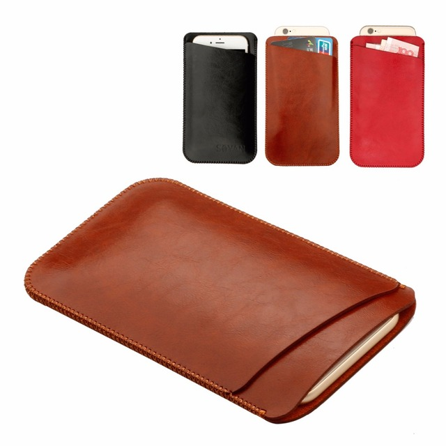 brand new 3f92e 8598e US $7.99 20% OFF|Factory price,For Samsung Galaxy S8 Case G950 Luxury  Double layer Microfiber Leather Phone sleeve bag Cover Pouch Cases Pocket  -in ...