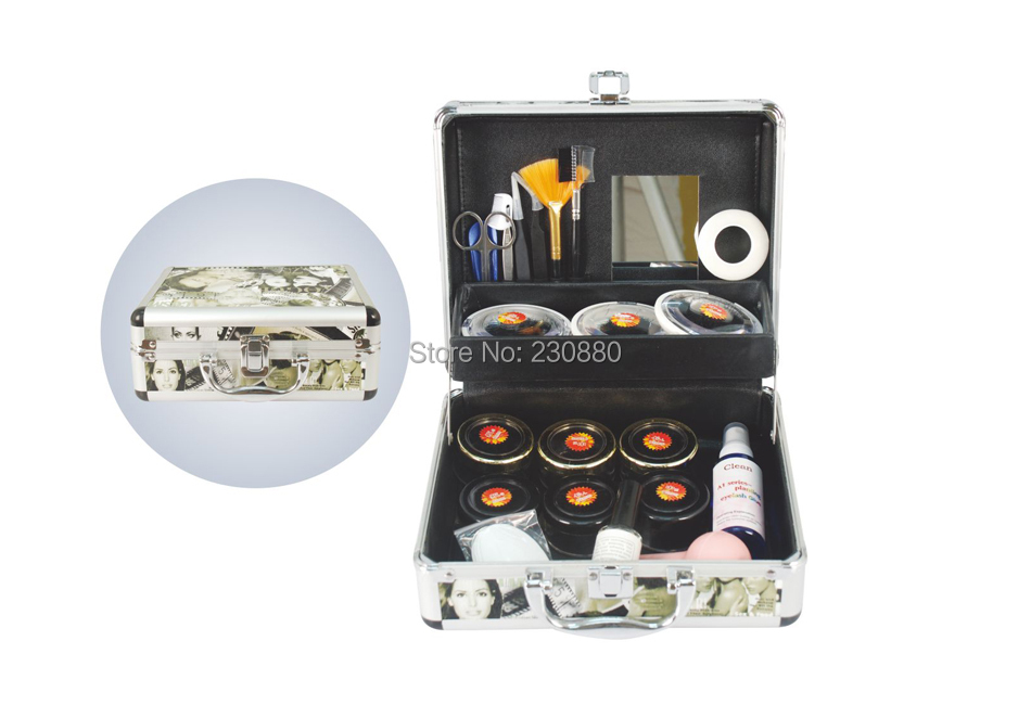 ФОТО Factory price professional eyelash extension kit/high quality make up set