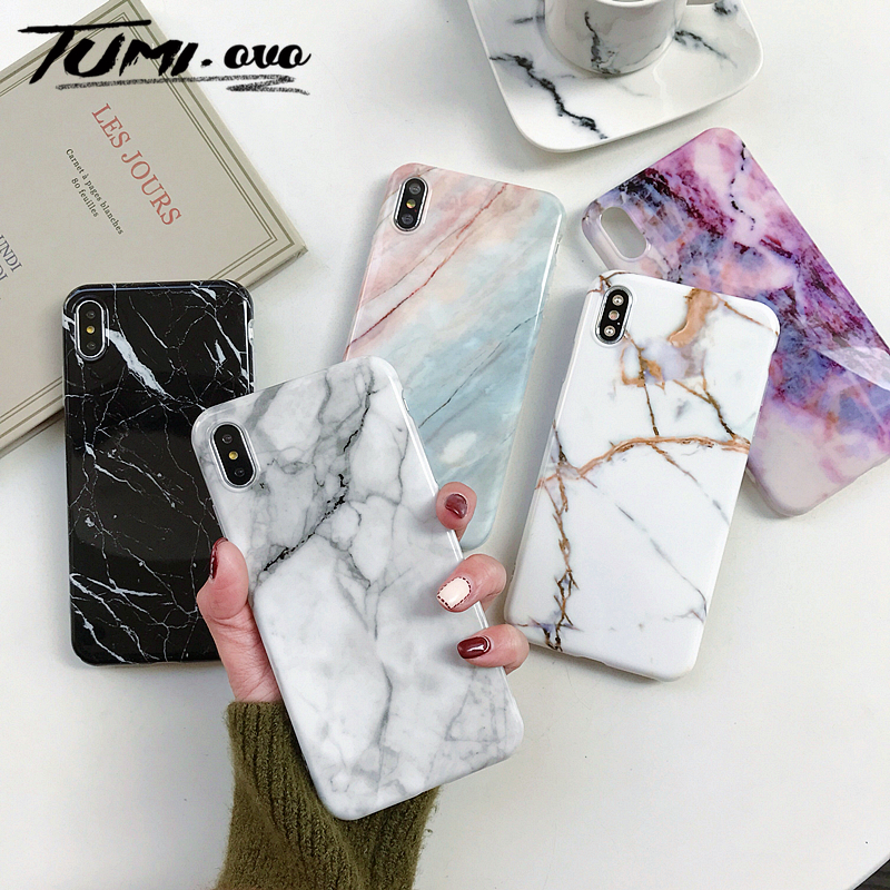 Marble Soft Silicone Back Cover Case For Samsung Galaxy S10 Plus S10E S8 S7 Edge A50 A10 A20 A30 A70 M10 Note 9 8 S9 Plus Case image