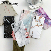 Marble Soft Silicone Back Cover Case For Samsung