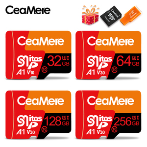 Image 1 - Micro SD карта памяти CeaMere, класс 10, 16 ГБ, 32 ГБ, 64 ГБ, 128 ГБ, 256 ГБ