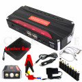 HOT!!12000mAh Car Battery Charger Multi-functiona portable mini car jump starter Emergency power supply for mobile phone laptop