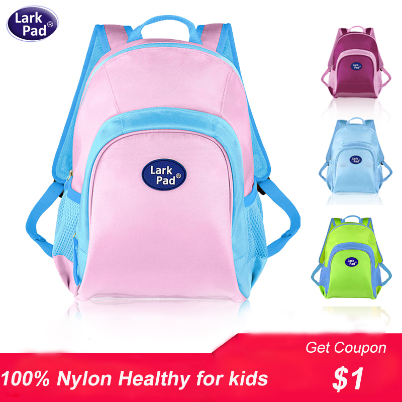 Larkpad 2018 children schoolbag cute baby School bags for Teenage girls boys kids Nylon bag children travel bags for girls