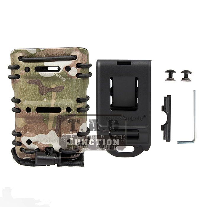 Image 5 - Emerson Tactical MOLLE / Belt Scorpion AR15 5.56 .223 EmersonGear Mag Pouch Adjustable Holster Magazine Carrier Case-in Holsters from Sports & Entertainment