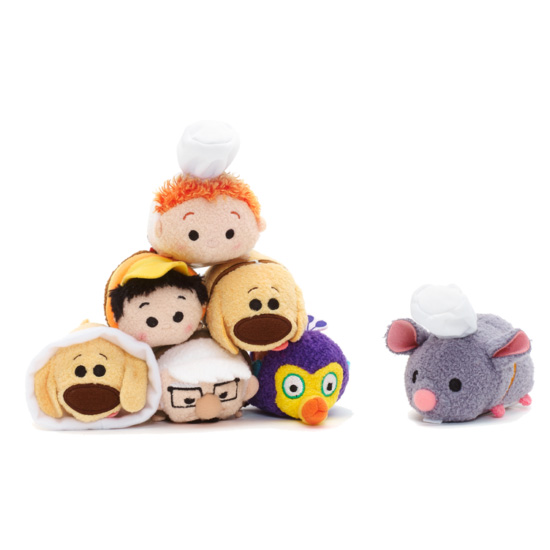 TSUM TSUM Cute Mini Up Ratatouille Movie Dug Dog Chef Plush Toy Doll Children Birthday Christmas Gift Collection ggs 30cm goofy dog plush toy doll super quality lovey cute doll gift for children christmas toys