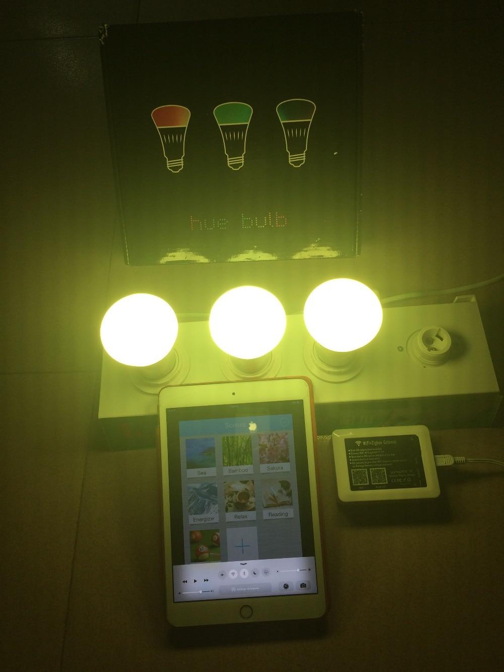 Zigbee Light Link Standard Smart Lamp Use 4 Value Pack Soft