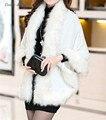 Daisy & Nd Mulheres Moda Inverno Capa Envoltório da Pele Do Falso Xale Scarf Quente Outwear Luxo Pashmina 004