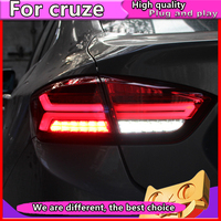 Car Styling for Chevrolet Cruze Sedan 2017 2018 Taillights LED Tail Lamp Rear Lamp ALL LED Taillight Running Turn Signal light