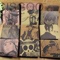 New Fashion One Pieces PU Leather Cute Cartoon Purse Tokyo Ghoul Detective Conan Card Holder Men Purse Short Wallet