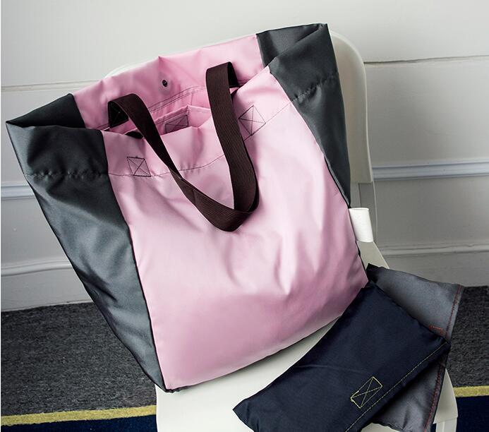 2018 módní ženy kabelky skládací vodotěsné Oxford nákupní tašky opakovaně skládací dárkové tašky