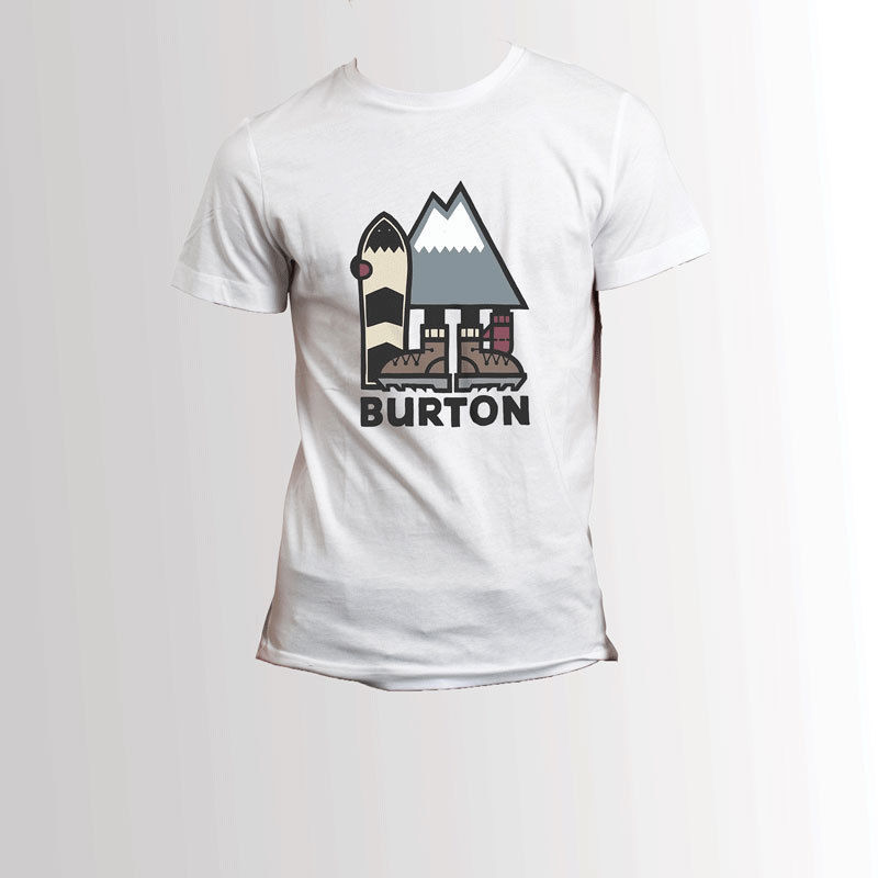 Burton Snowboards   T     Shirt   Men'S Tee