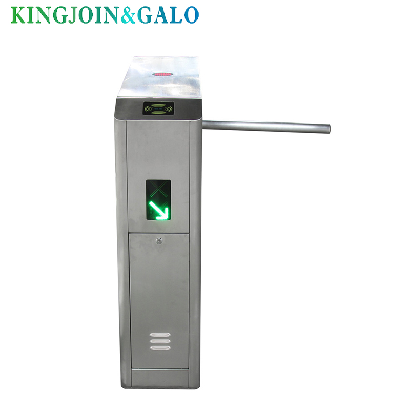 full automatic speed tripod Turnstile Gate with <font><b>passenger</b></font> <font><b>counter</b></font> free shipping image