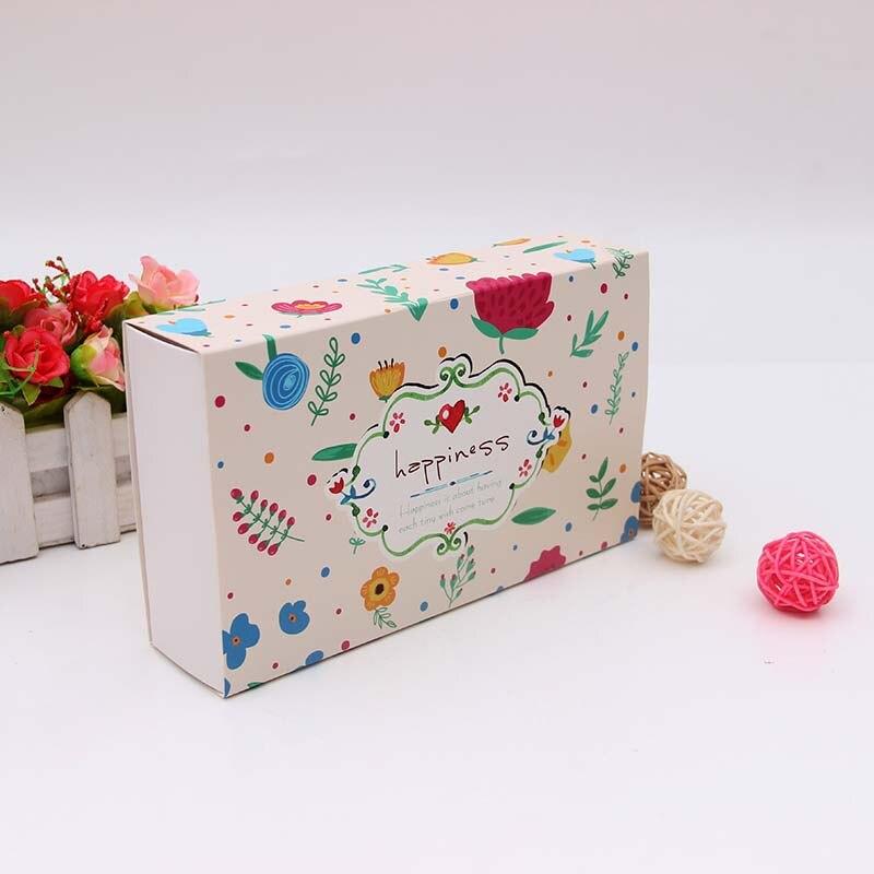 Hurtownie 500 sztuk/partia spersonalizowany karton przesuwne wyciągnąć kartonowe pudełko na prezent szuflady drukowane projekt skarpetki box darmowa wysyłka w Torby na prezenty i przybory do pakowania od Dom i ogród na  Grupa 2