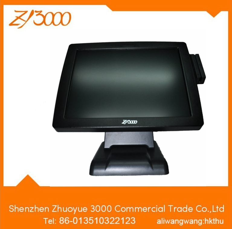 Maple Touch 15'' All In One Computer/pos Computer With Terminal Printer And Customer Display/used In Restaurant