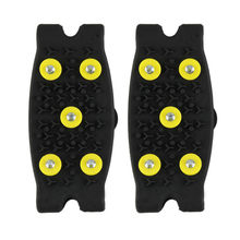 Winter Hot Sale Snow Ice Climbing Anti Slip Spikes Grips Crampon Cleats 5-Stud Outdoor Sport Shoes Cover #4S19(China)