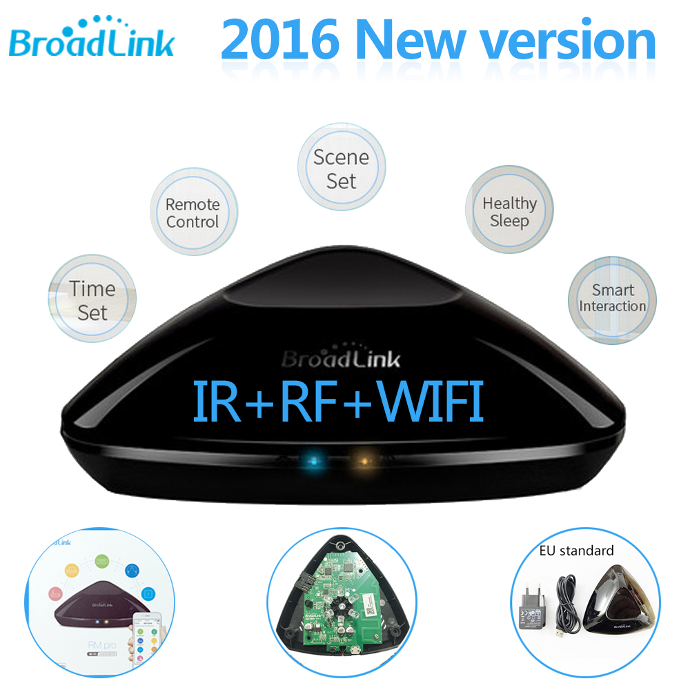 Broadlink RM3 RM Pro & RM mini3 Smart Home Automation Universal Intelligent Remote Controller WIFI+IR+RF Switch For iOS Android