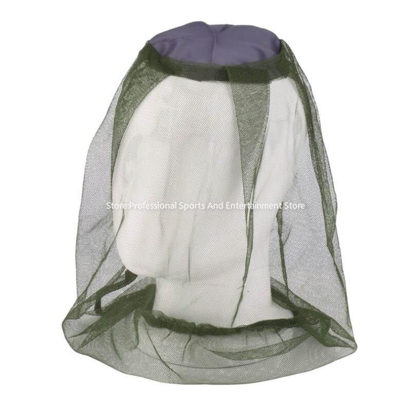 Superior Al Por Mayor de Midge Mosquito Insecto Del Insecto Sombrero Cabeza Malla Cara Protector Viaje Camping
