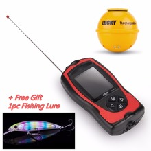FF1108-1CWLA Wireless Fish Finder Deeper Sonar Echo Sounder 147ft 45m for Fishing Carp Pesca Depth Waterproof Bite Alarm