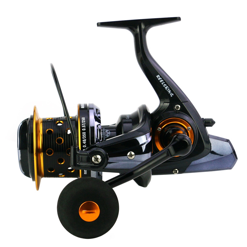 Deshion 14 1 BB Deep Sea Fishing Reel Saltwater Large Coil Long Cast Spinning Reels Boat Fishing Reels in Fishing Reels from Sports Entertainment