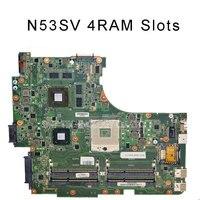 For ASUS N53SV Original Laptop Motherboard Mainboard 2G Nvidia M540 And 4 RAM Slots Rev 2