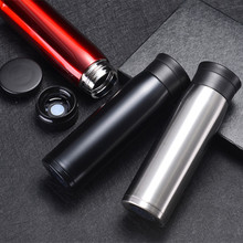 Portable Thermos Vacuum Flask Filter 304 Stainless Steel Thermal Cup Tea Coffee Mug Water Bottle Office Travel Thermo Thermocup