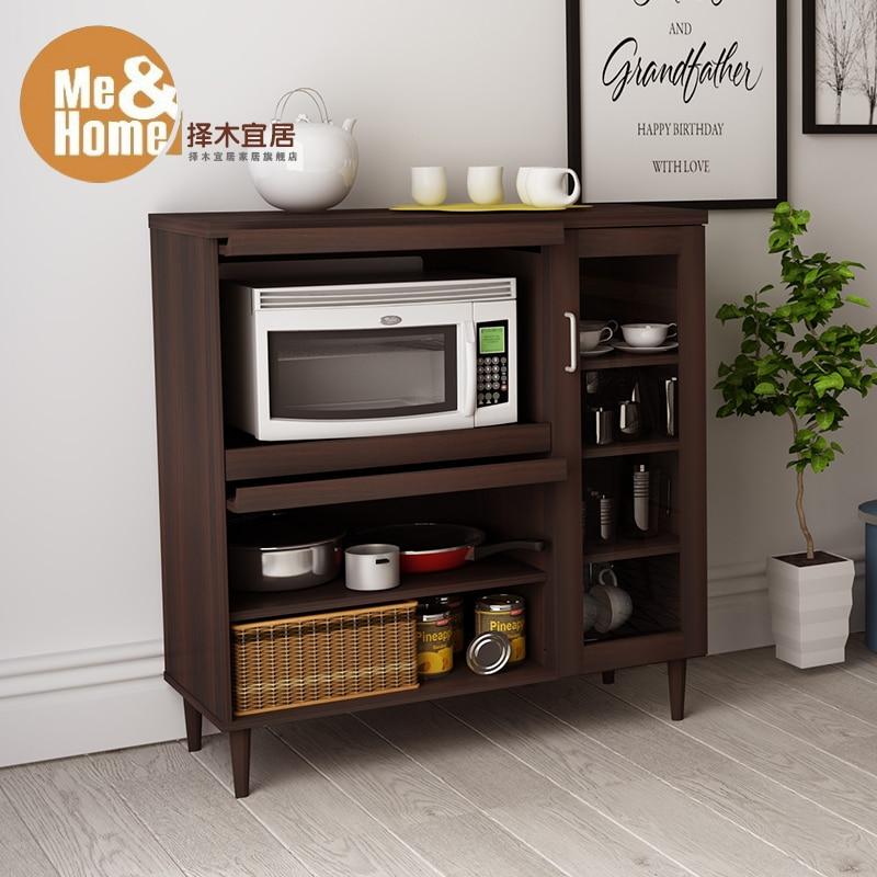 Greener Livable Minimalist Modern Sideboard Cupboard Restaurant Kitchen Cabinets Microwave Shelf Storage Cupboards In Sideboards From Furniture On
