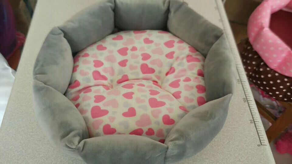 High quality Flower printed Kennel Pet Dog Mat Cushion For Cat Bed