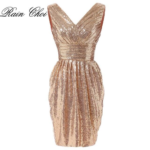 d64bc6727c US $67.2 20% OFF|New Arrivals short evening Dresses 2019 Elegant Short  Party Gowns fashion Sequin Party dresses-in Evening Dresses from Weddings &  ...
