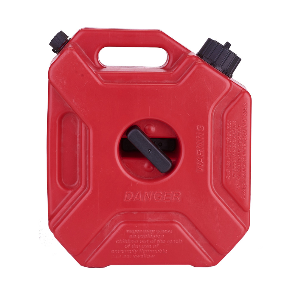 5L Gas Spare Container 1.3 Gallon Petrol Cans Polyethylene Plastic Car Motorcycle Gasoline Tank nib 8 pack scepter corporation 07450 1 25 gallon epa carb gas can auth dealer