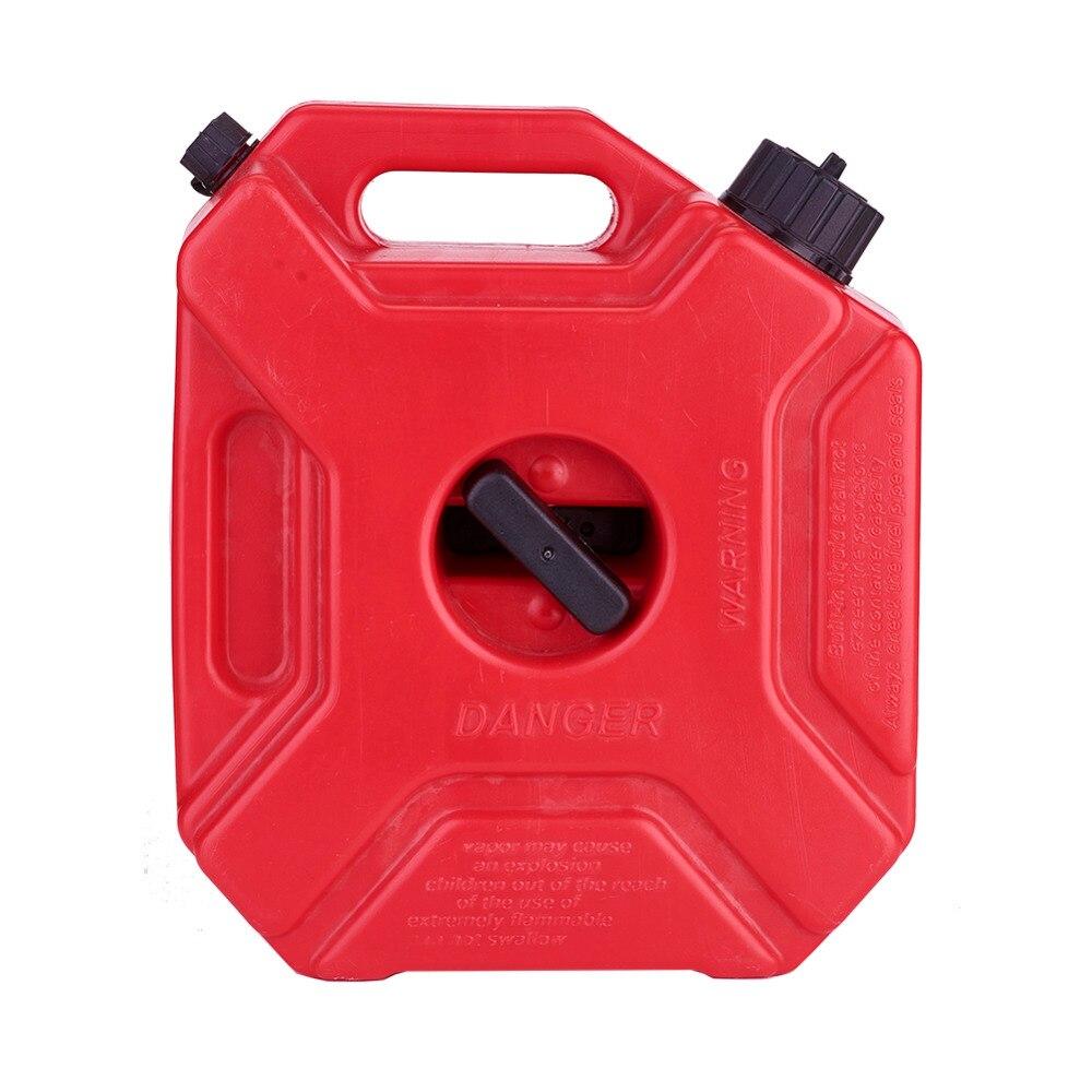5L gaz de rechange conteneur 1.3 gallons essence canettes polyéthylène plastique voiture moto réservoir d'essence