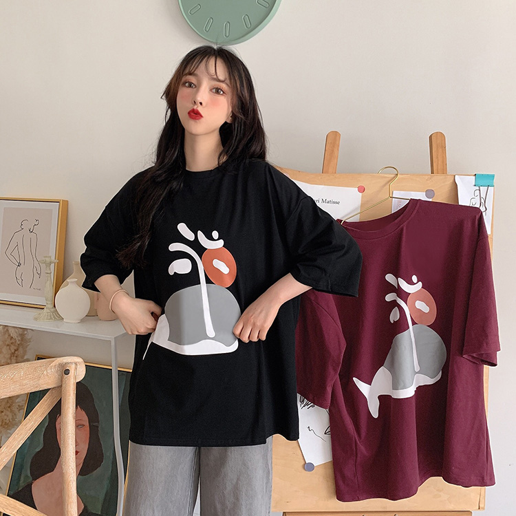 women clothes lovely tshirt top tees t shirt O neck TY821