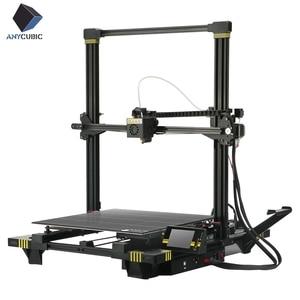 Image 2 - Anycubic 3d drukarka anycubic Chiron Plus duży rozmiar wydruku tanie 3D drukarka 400*400*450mm drukuj zestawy DIY FDM TFT impresora 3d