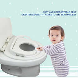 Portable Baby Toilet Seat Warm Soft Potty Pad On the Toilet For Baby Training Potty Chair Cushion Pad For Toilet Children