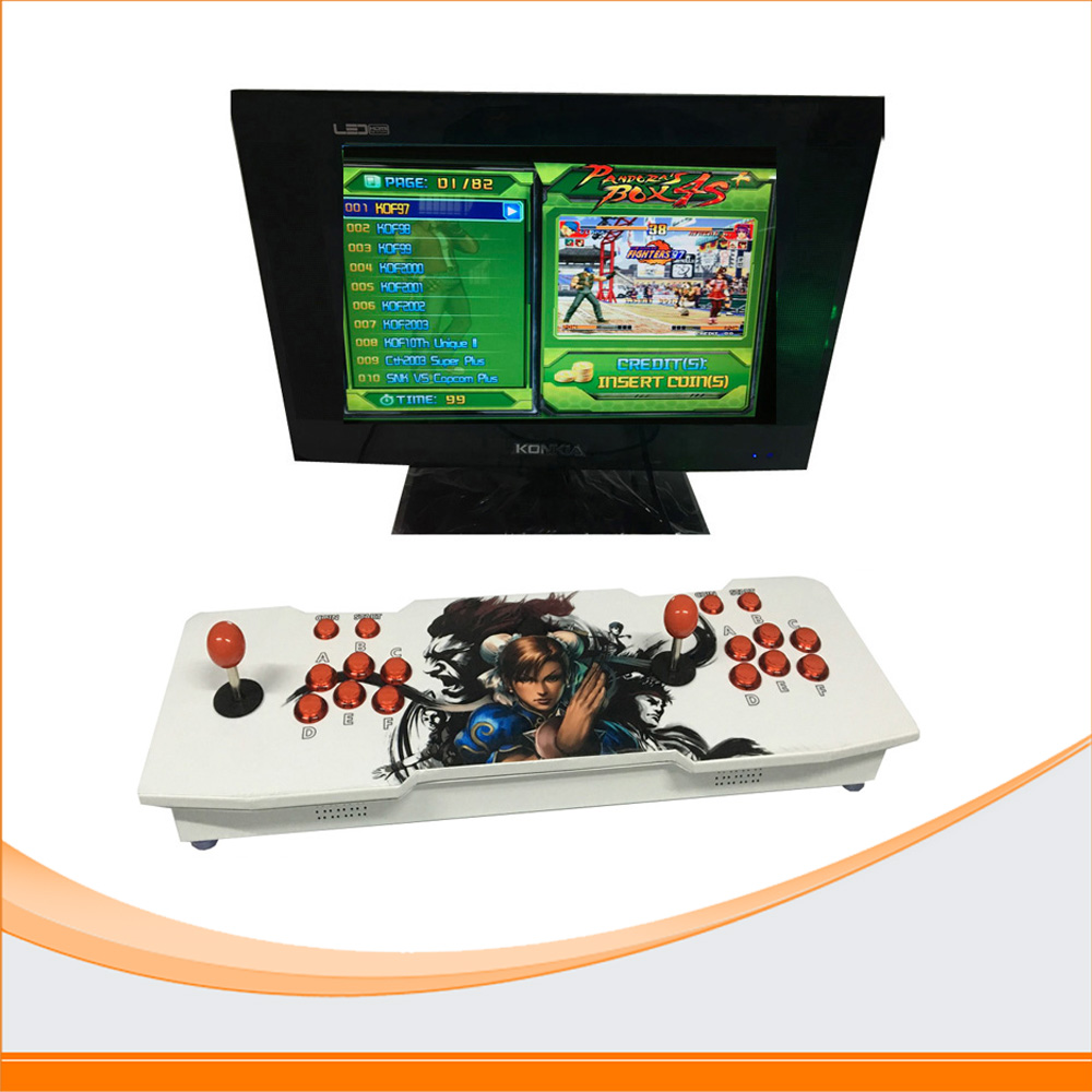 New arrival Jamma multi games Household arcade video game machine console,multi game 815 in 1 Pandora Box 4s game machine free shipping pandora box 4s 815 in 1 jamma mutli game board arcade mutligame pcb vga hdmi signal output for arcade game cabinet