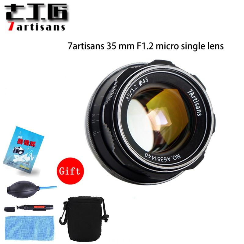 7artisans 35mm F1 2 APS C Manual Fixed Lens For E Mount Canon EOS M Mount