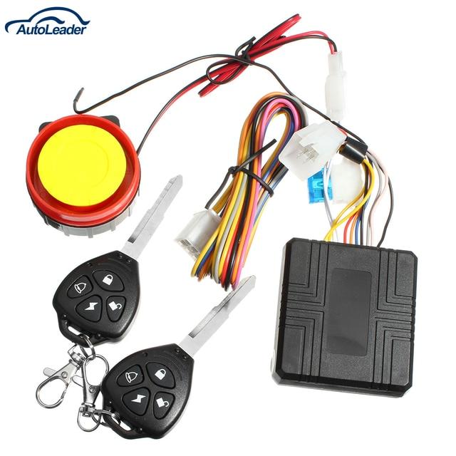 12v Remote activation motorcycle alarm motorcycle accessories motorcycle remote control + key