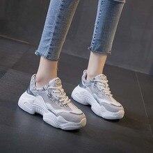 где купить summer Women Genuine Leather Sneakers Vulcanized Shoes Female Trainers Ladies Casual Shoes Breathable Lace Up Platform Shoes по лучшей цене