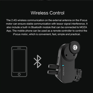 Image 4 - MOZA iFocus Wireless Follow Focus Motor for Moza Air 2, Air, or AirCross DSLR Gimbal Stabilizer Follow Focus Accessories instock