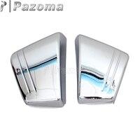 Chrome Frame Fairing Guard Battery Side Cover Protector for Honda VTX 1800 C/Custom