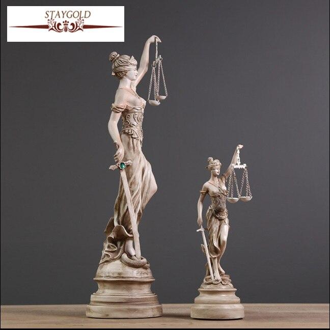 Ежелгі грек богини Әділдік Фемида - Үйдің декоры - фото 2