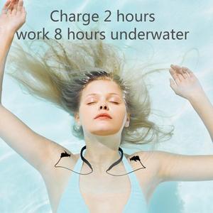 Image 3 - Tayogo przewodnictwa kostnego HIFI wodoodporny MP3 słuchawki z Bluetooth radio fm krokomierz pod wodą USB MP3 odtwarzacz muzyczny do pływania Sport nurkowanie