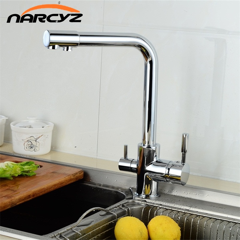Narcyz More color Brass Marble Painting Swivel Drinking Water Faucet 3 Way Water Filter Purifier Kitchen Faucets XT-34 sognare 100% brass marble painting swivel drinking water faucet 3 way water filter purifier kitchen faucets for sinks taps d2111