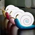 Caracol noite criativo luz novidade lâmpada de Lava lâmpada noite de sono iluminação luz de noche luces flotantes para piscina