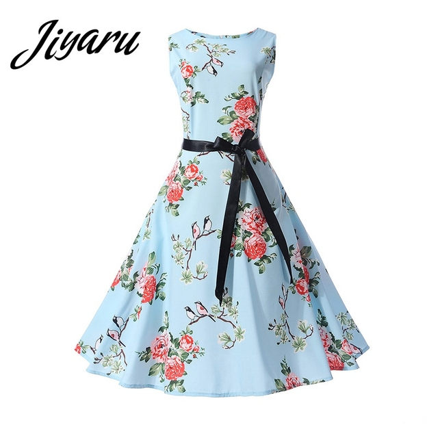 ba9d8fa9d59c Female Casual Dresses Summer Autumn Ladies Girls Outside Beach Dresses  Printed Sleeveless Dresses for Women Women Clothing