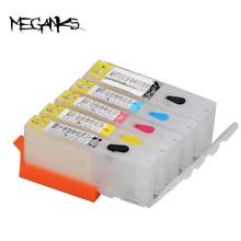 จัดส่งฟรี 10 ชุดPGI 150 CLI 151 เติมหมึกสำหรับCanon IP7210 MG5410 MG5510 MG6410 MG6610 MG5610 MX921 5 สี